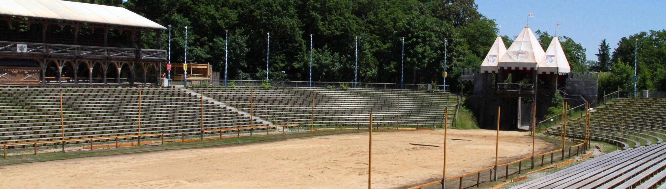 Die größte Ritterturnier Arena der Welt